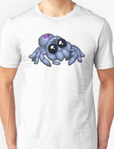 Cute Blue Spider Unisex T-Shirt