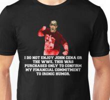 """""""Ironically"""" Unisex T-Shirt"""