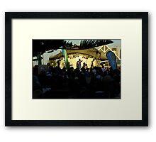 Kate Cebrano Concert Busselton Framed Print
