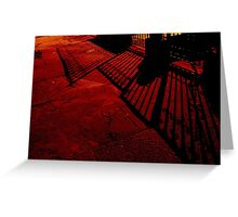 gates of night Greeting Card