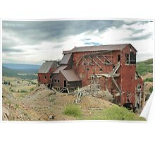 Victor Colorado Mine Poster