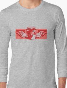 Angel- red Long Sleeve T-Shirt