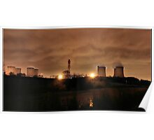 POWER STATION WIDNES Poster