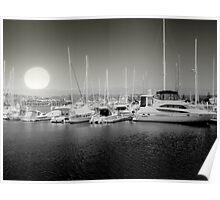 SUNRISE AT COFFS HARBOUR Poster