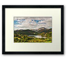 Llyn Gwynant in Snowdonia  Framed Print