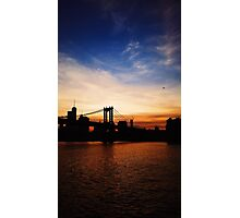 NYC Sunset Photographic Print