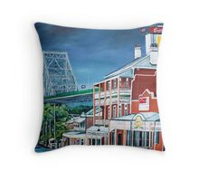 Two Story's Throw Pillow