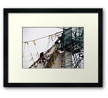 Hang on Sloopy.... Framed Print