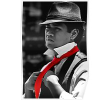 Red Tie Poster