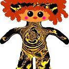 Little Miss Georgia Sunshine Rag Doll by Deborah Lazarus