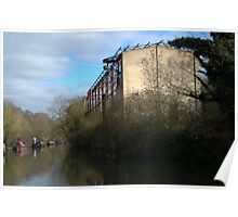 Grand Union Canal factory Poster