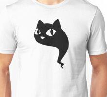 Cat Ghost Black Unisex T-Shirt