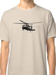 Black Hawk Helicopter Classic T-Shirt