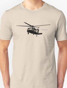Black Hawk Helicopter Unisex T-Shirt