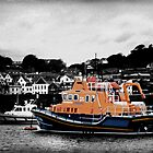 Guernsey Lifeboat by Chris Cardwell
