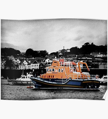Guernsey Lifeboat Poster