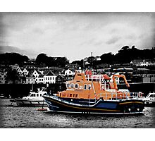 Guernsey Lifeboat Photographic Print