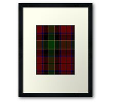 00359 Waterford Tartan  Framed Print