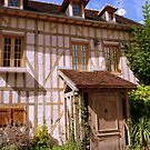 Old house at Ste Maure, France by bubblehex08