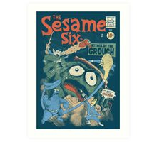 The Sesame Six Art Print