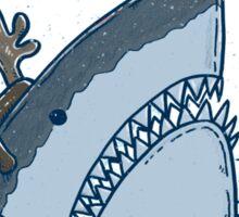 Rudolph Shark Sticker