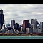 Chicago as Seen from the Planetarium by Matt Becker