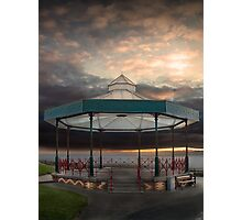 Bandstand, Tenby, Pembrokeshire Photographic Print