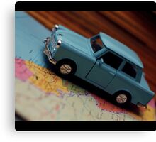 Trabant Traveller Canvas Print