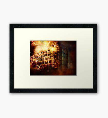 Inferno Framed Print