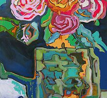 ABSTRACT FOLLIN' AROUND by Linda Arthurs