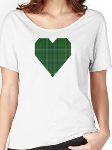 00362 Wexford County (District) Tartan  Women's Relaxed Fit T-Shirt