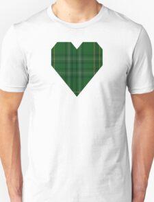 00362 Wexford County (District) Tartan  T-Shirt
