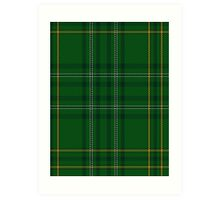 00362 Wexford County (District) Tartan  Art Print