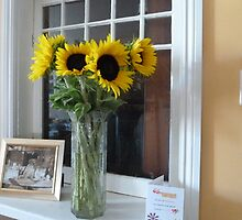 Sunshine In A Vase by joycee