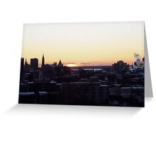 Ottawa Sunset Greeting Card