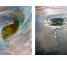 Whirlpool I (Above and Below) by Steven David Johnson