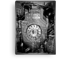 A silent telephone   sssssssssssss Canvas Print
