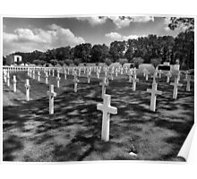 American Cemetery, Cambridge UK Poster