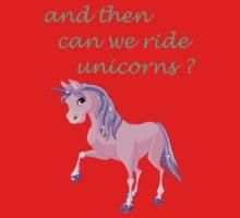Ride unicorns Kids Tee
