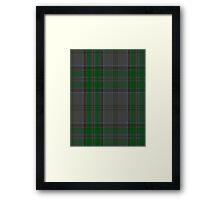 00366 Wicklow County District Tartan  Framed Print