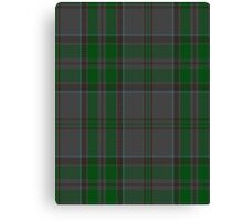00366 Wicklow County District Tartan  Canvas Print