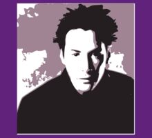 Keanu Reeves in the Matrix, Purple Color by Kathryn8