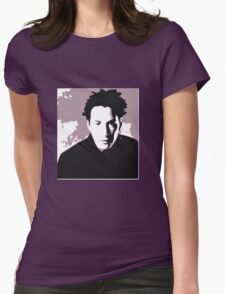 Keanu Reeves in the Matrix, Purple Color T-Shirt