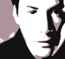 Keanu Reeves in the Matrix, Purple Color Sticker