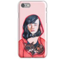 Hooded Being  iPhone Case/Skin