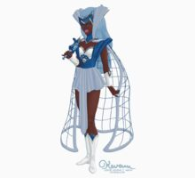 The Captivating Cerulean Huntress by Kevenn T. Smith Kids Tee
