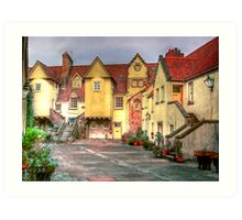 Old Edinburgh Mews Art Print
