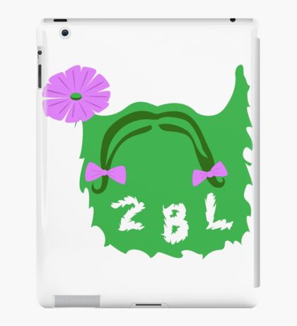 2BL Logo - White iPad Case/Skin