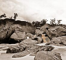 Auburn Falls - Mundubbera - Queensland by Mark Williams