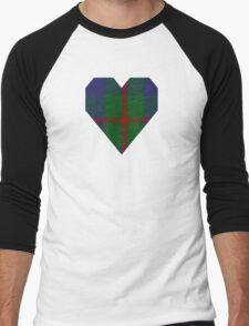 00367 Agnew Family Tartan  Men's Baseball ¾ T-Shirt
